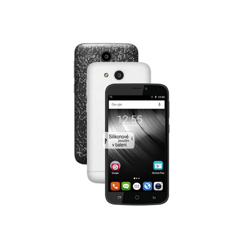 Mobilný telefón iGET BLACKVIEW A5 + balení 2 kryty (černý a bílý) a silikonové pouzdro (84000134)
