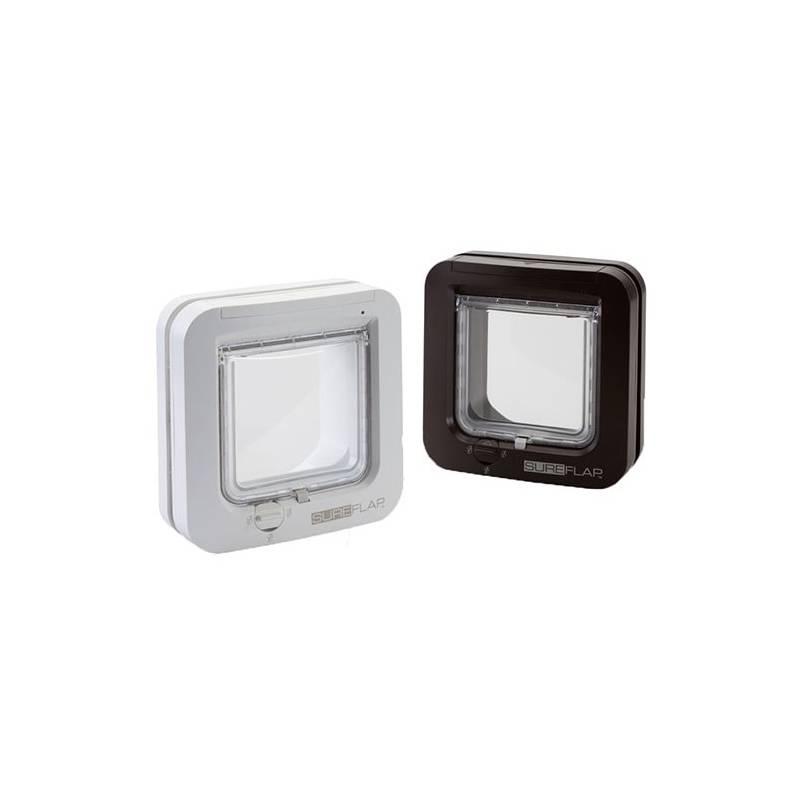 Dvierka SureFlap s mikročipom pre mačky - biele