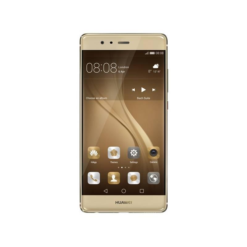 Huawei P9 32 GB Dual SIM - zlatý (SP-P9DSGOM) Power Bank Huawei AP08Q 10000mAh - černá (zdarma)Paměťová karta Samsung Micro SDHC EVO 32GB class 10 + adapter (zdarma)Software F-Secure SAFE 6 měsíců pro 3 zařízení (zdarma)Voucher na skin Skinzone pro Mobil