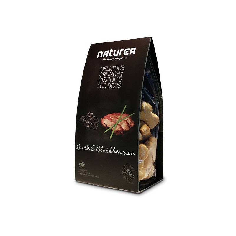 Sušienky Naturea GF - kachna a ostružiny 230 g