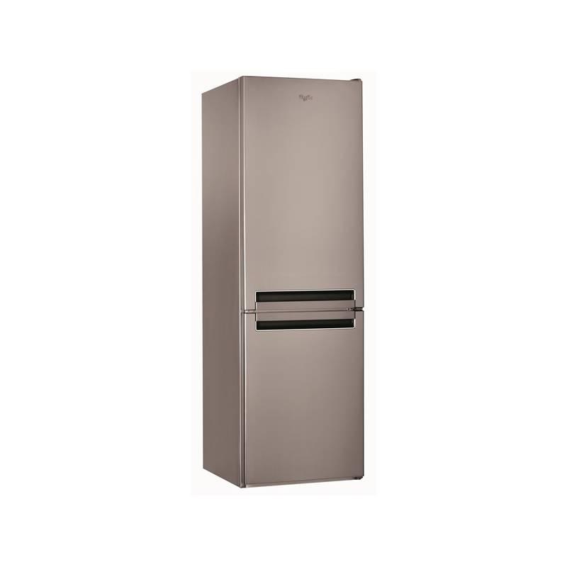 Kombinácia chladničky s mrazničkou Whirlpool BSNF 8122 OX nerez + Doprava zadarmo