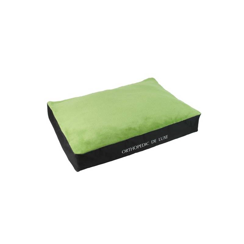 Matrace O'Lala Pets ortopedická De Luxe 120 x 85 cm zelená