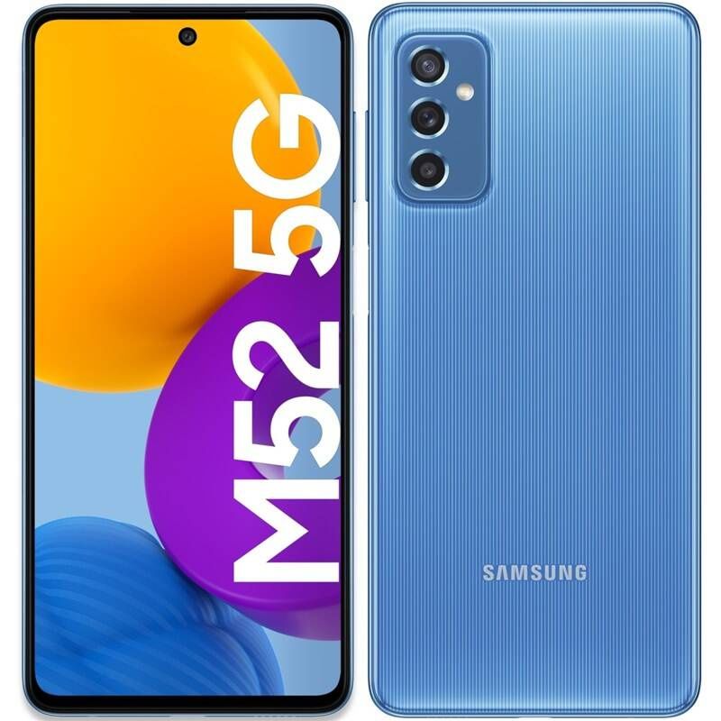 Mobilný telefón Samsung Galaxy M52 5G (SM-M526BLBDEUE) modrý