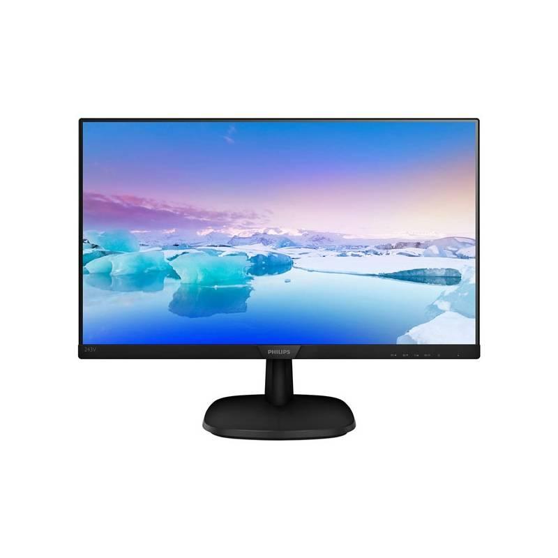 Monitor Philips 243V7QSB (243V7QSB/00) čierny + Doprava zadarmo