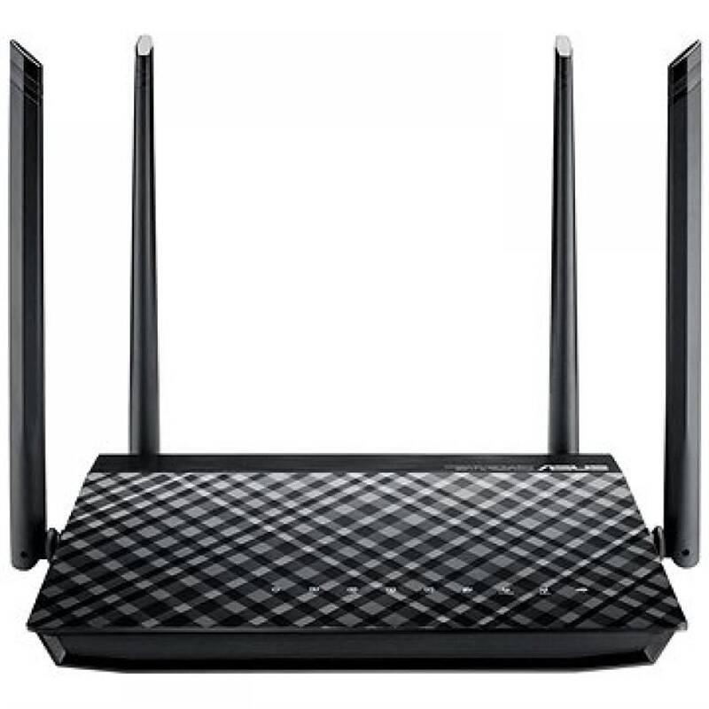 Router Asus RT-AC1200GU (90IG02P1-BO3100) černý