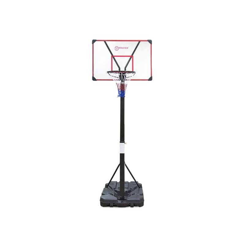 Basketbalový kôš Master Acryl Board 110 x 70 cm čierny/biely/červený + Doprava zadarmo