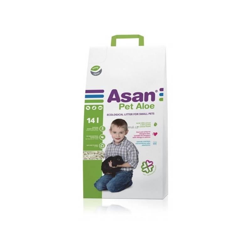 Podstielky Asan Pet Aloe 14l