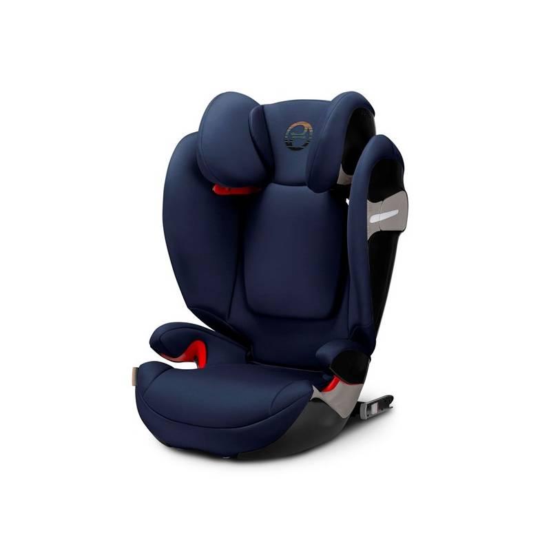 Autosedačka Cybex Solution S-fix 2018, 15-36kg, Denim Blue + Doprava zadarmo