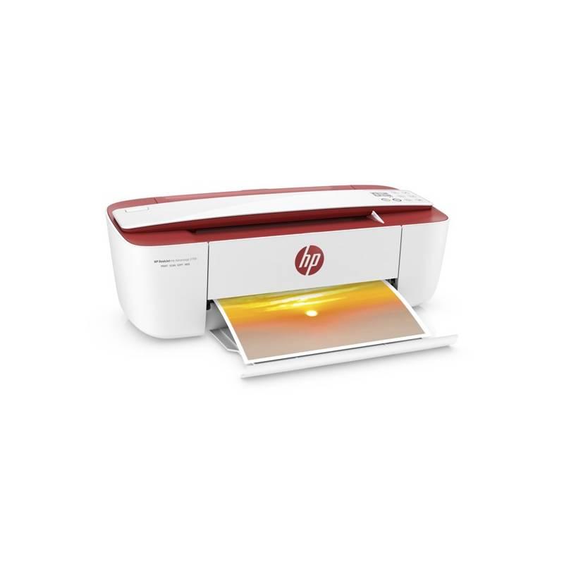 Tlačiareň multifunkčná HP DeskJet Ink Advantage 3788 (T8W49C#A82) biela farba/červená farba