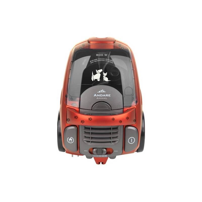 Vysávač podlahový ETA Andare Animal 149390020 červený
