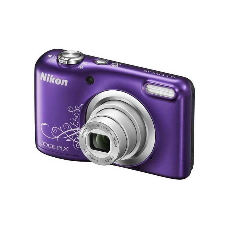 Digitálny fotoaparát Nikon Coolpix A10 fialový + Doprava zadarmo