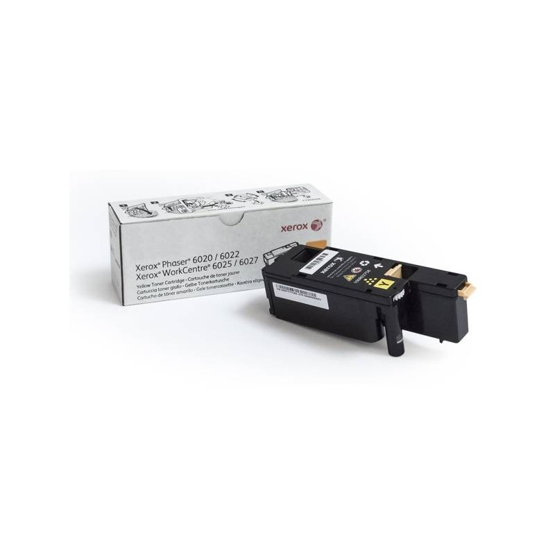 Toner Xerox 106R02761 pro tiskárny Phaser 6020/6022, WorkCentre 6025/6027 1000 str. (106R02762) žlutý
