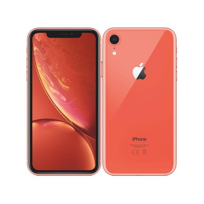 Mobilný telefón Apple iPhone XR 64 GB - coral (MRY82CN/A) + Doprava zadarmo