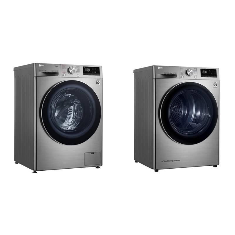 Set výrobkov LG F4WV909P2TE + RC91V9EV2Q + Doprava zadarmo