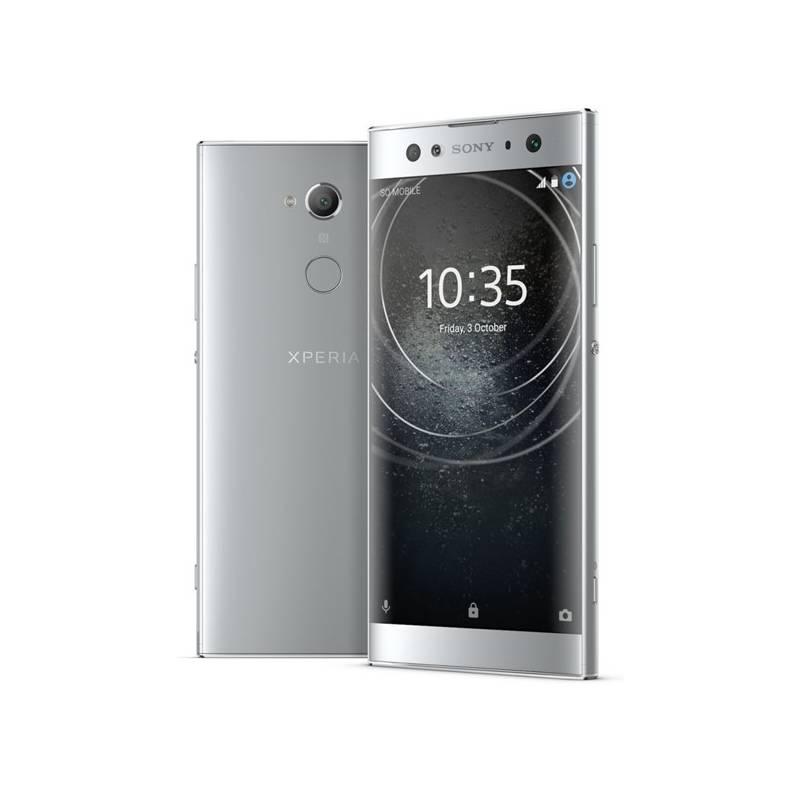 Mobilný telefón Sony Xperia XA2 Ultra Dual SIM (1312-6639) strieborný