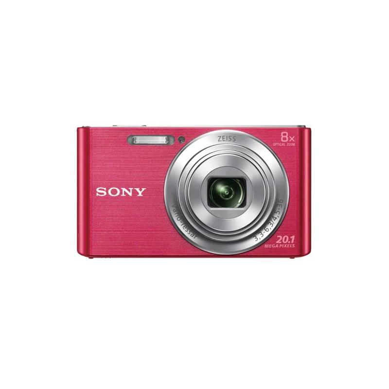 Digitálny fotoaparát Sony Cyber-shot DSC-W830P ružový