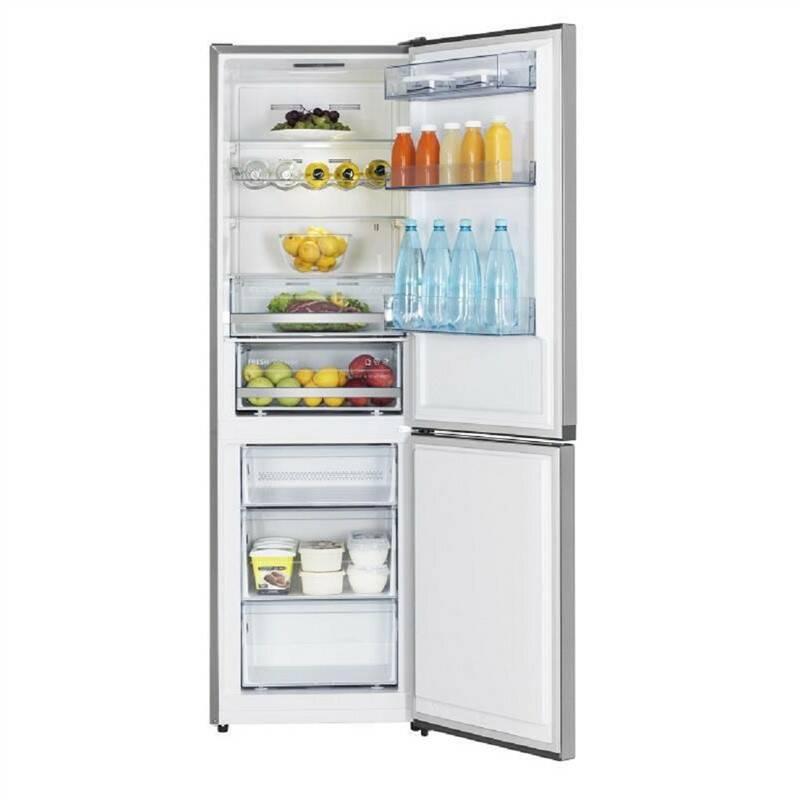 Kombinácia chladničky s mrazničkou Hisense RB400N4BC3 nerez + Doprava zadarmo