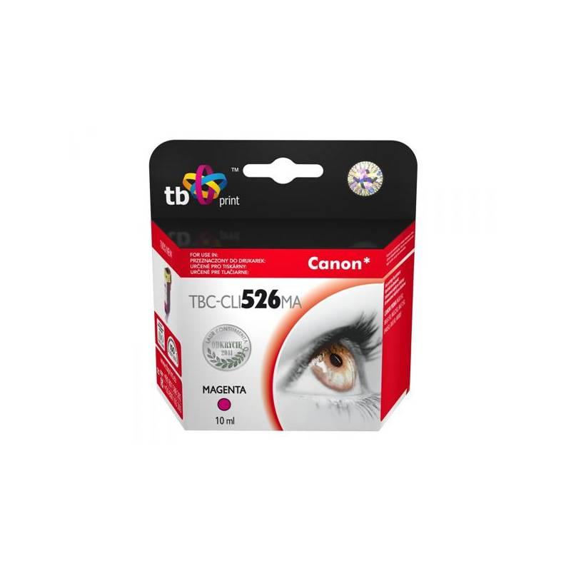 Cartridge TB Canon CLI-526M - kompatibilní (TBC-CLI526MA) červená
