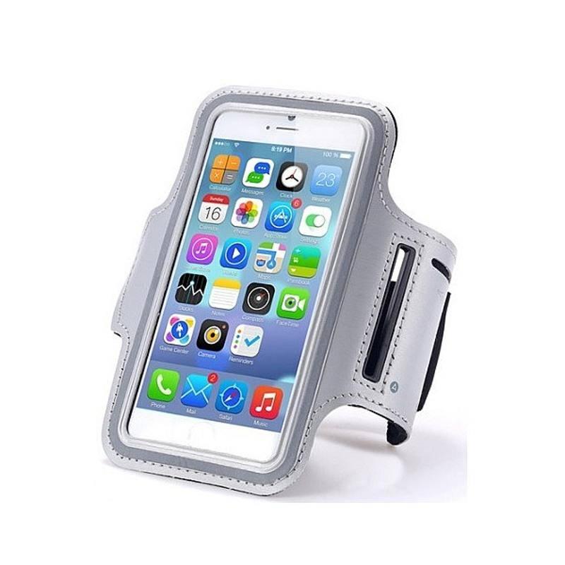 """Puzdro na mobil športové CellFish na ruku 4 - 5"""" (CELLARMI6GREY) sivé"""