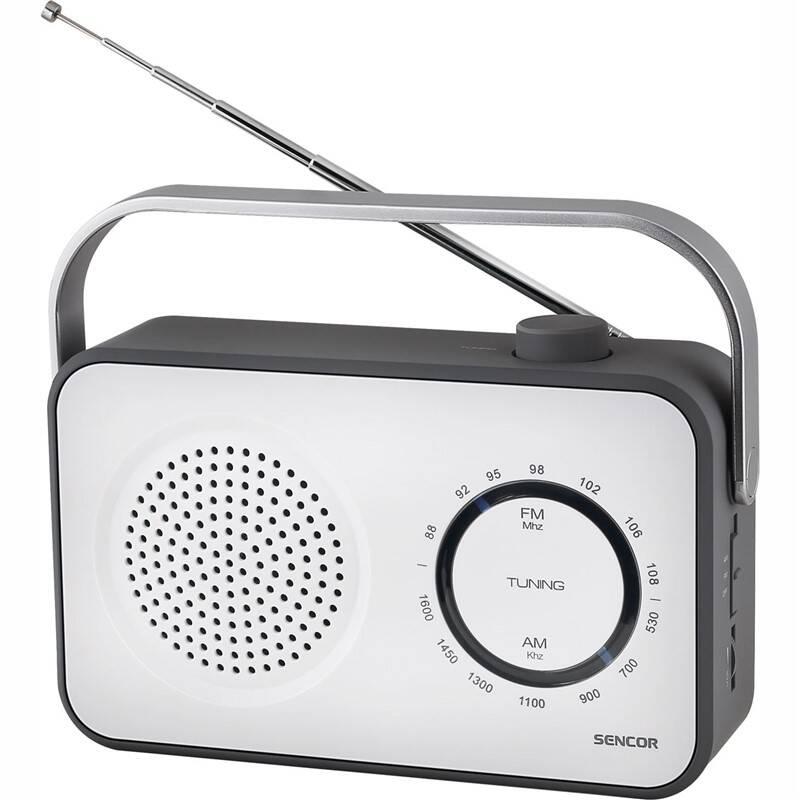 Radiopřijímač Sencor SRD 2100 bílý