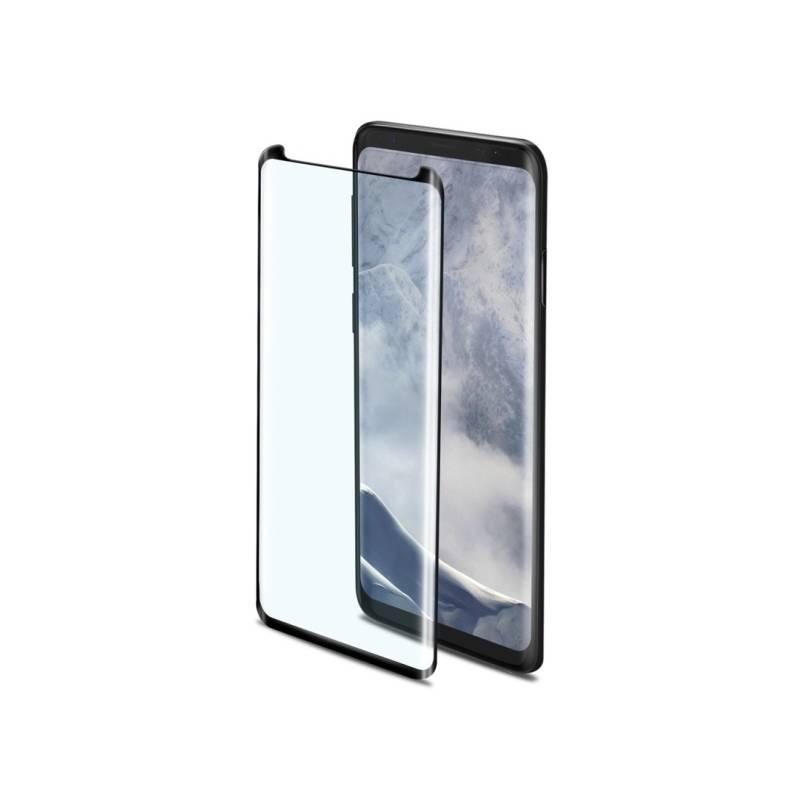 Ochranné sklo Celly Privacy 3D pro Samsung Galaxy S9 (PRIVACY3D790BK) čierne