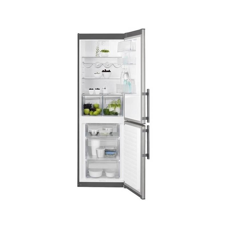 Kombinácia chladničky s mrazničkou Electrolux EN3613MOX nerez + Doprava zadarmo