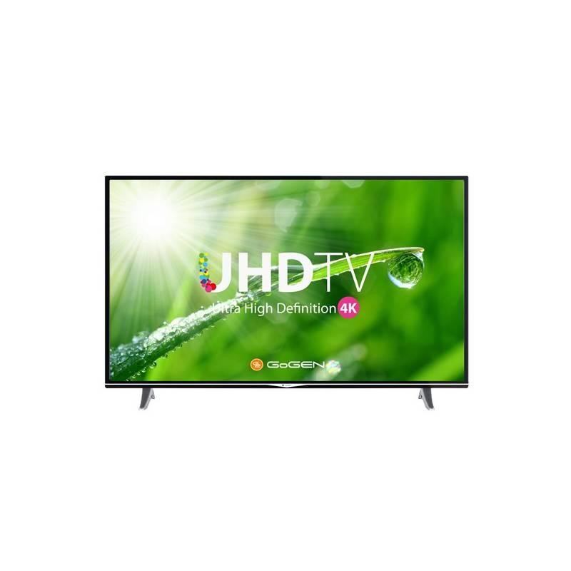 Televízor GoGEN TVU 55S298 STWEB čierna + Doprava zadarmo