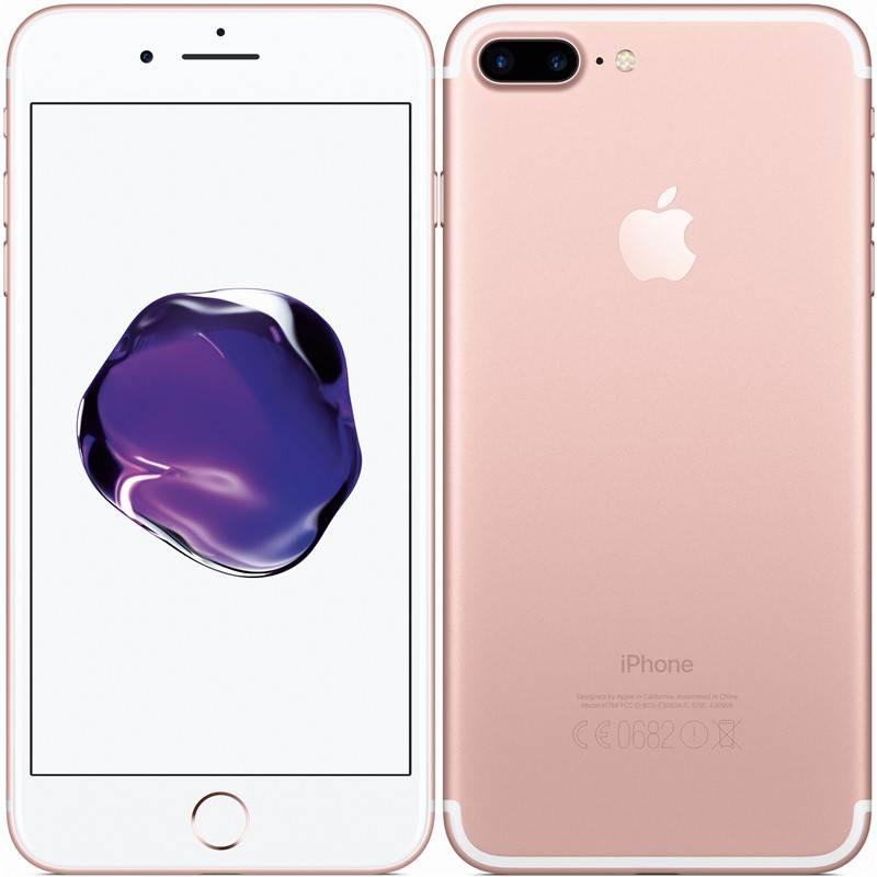 Mobilný telefón Apple iPhone 7 Plus 128 GB - Rose Gold (MN4U2CN/A)
