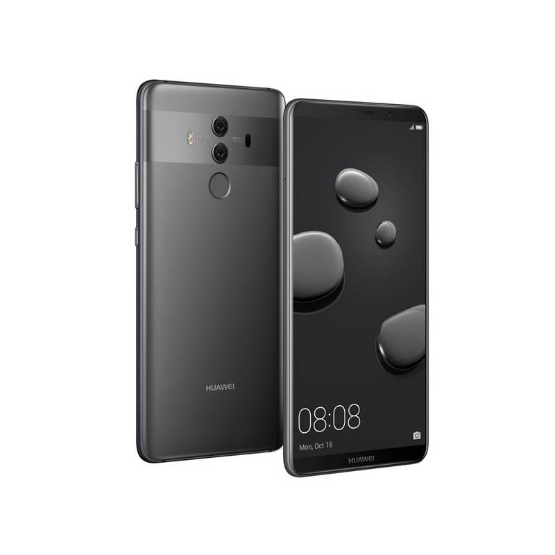 Mobilný telefón Huawei Mate 10 Pro Dual SIM (SP-MATE10PDSTOM) sivý Software F-Secure SAFE, 3 zařízení / 6 měsíců (zdarma)Fitness náramek Huawei Color Band A1 - černé (zdarma) + Doprava zadarmo