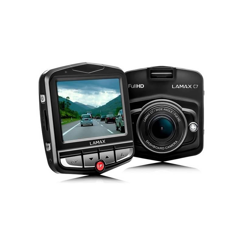 Autokamera LAMAX C7 čierna Protiskluzová podložka TrueCam univerzální (zdarma)
