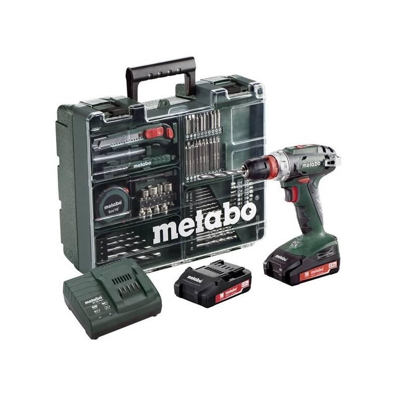 Aku vŕtačka Metabo BS 18 Quick MD 602217880 zelená