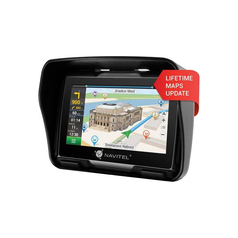 Navigačný systém GPS Navitel G550 (C2047027) čierna + Doprava zadarmo