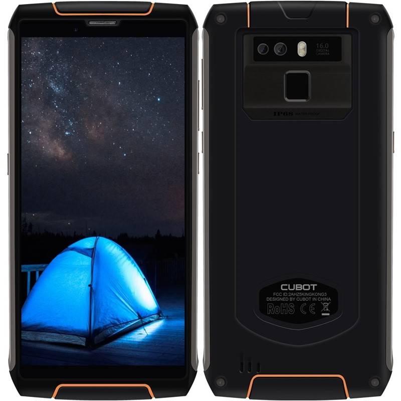 Mobilný telefón CUBOT King Kong 3 (PH3977) čierny + Doprava zadarmo