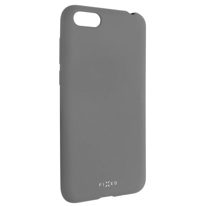 Kryt na mobil FIXED Story pro Huawei Y5 (2018) (FIXST-307-GR) šedý