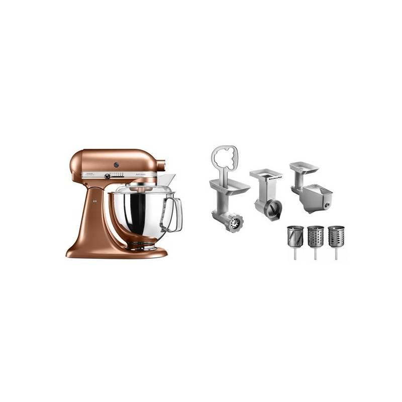 Set výrobkov KitchenAid 5KSM175PSECP + FPPC + Doprava zadarmo