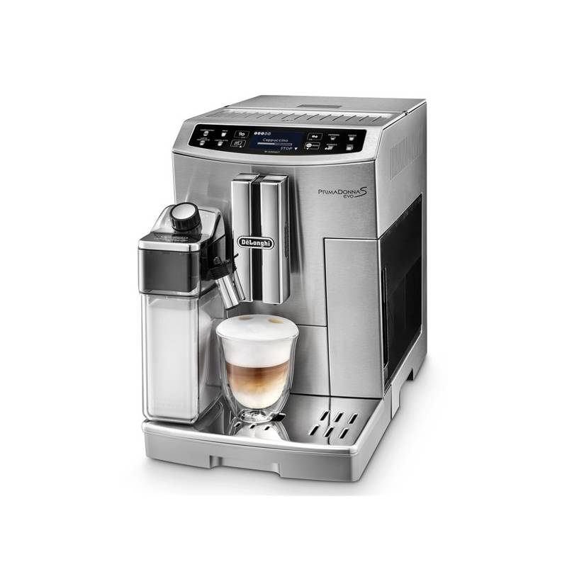 Espresso DeLonghi PrimaDonna S Evolution ECAM 510.55.M strieborné