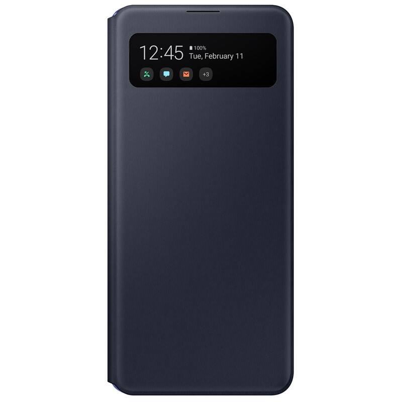 Púzdro na mobil flipové Samsung S View na Galaxy A41 (EF-EA415PBEGEU) čierne