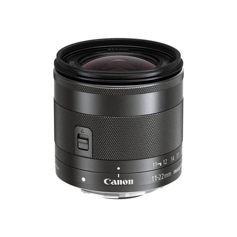 Objektiv Canon EF-M 11-22mm f/4-5.6 IS (7568B005) černý