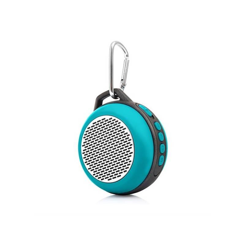 Prenosný reproduktor LAMAX Beat Sphere SP-1 sivý/tyrkysový + Doprava zadarmo
