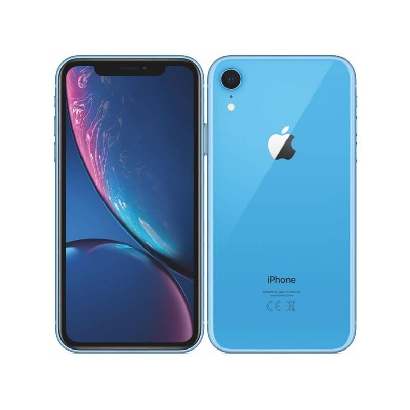Mobilný telefón Apple iPhone XR 64 GB - blue (MRYA2CN/A) + Doprava zadarmo