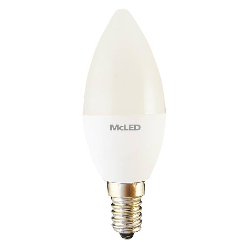 LED žiarovka McLED svíce, 3,5 W, E14, neutrální bílá