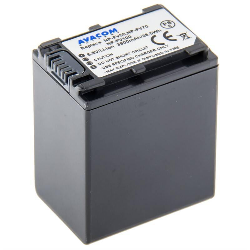 Batéria Avacom Sony NP-FV100 Li-Ion 6.8V 3900mAh 26.5Wh (VISO-FV10-734N3)