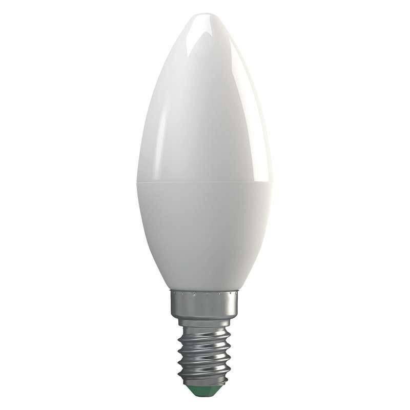 LED žiarovka EMOS klasik svíčka, 4W, E14, neutrální bílá (1525731400)