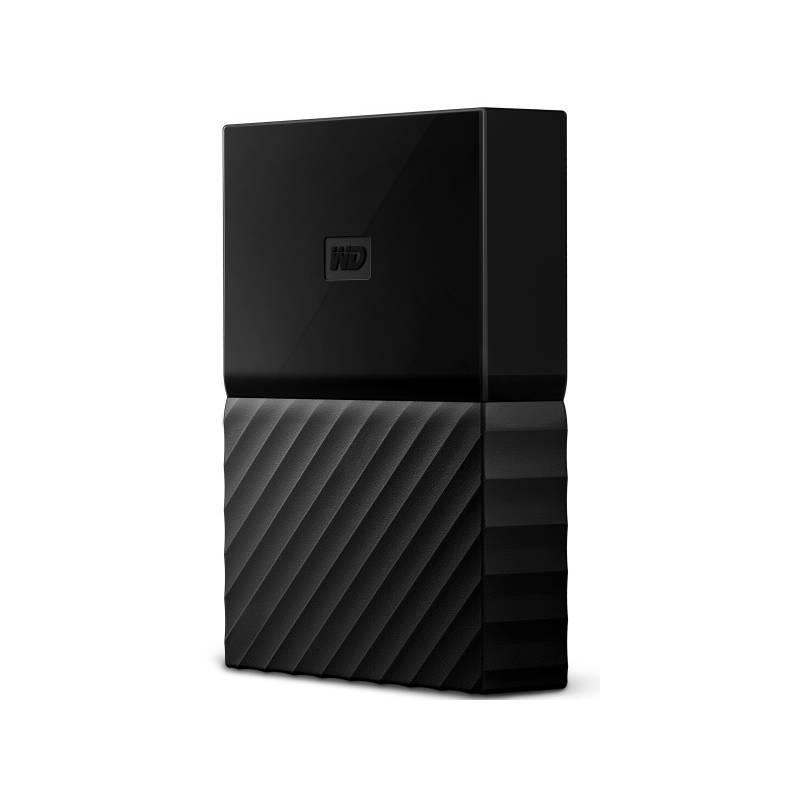 """Externí pevný disk 2,5"""" Western Digital My Passport 4TB (WDBYFT0040BBK-WESN) černý"""