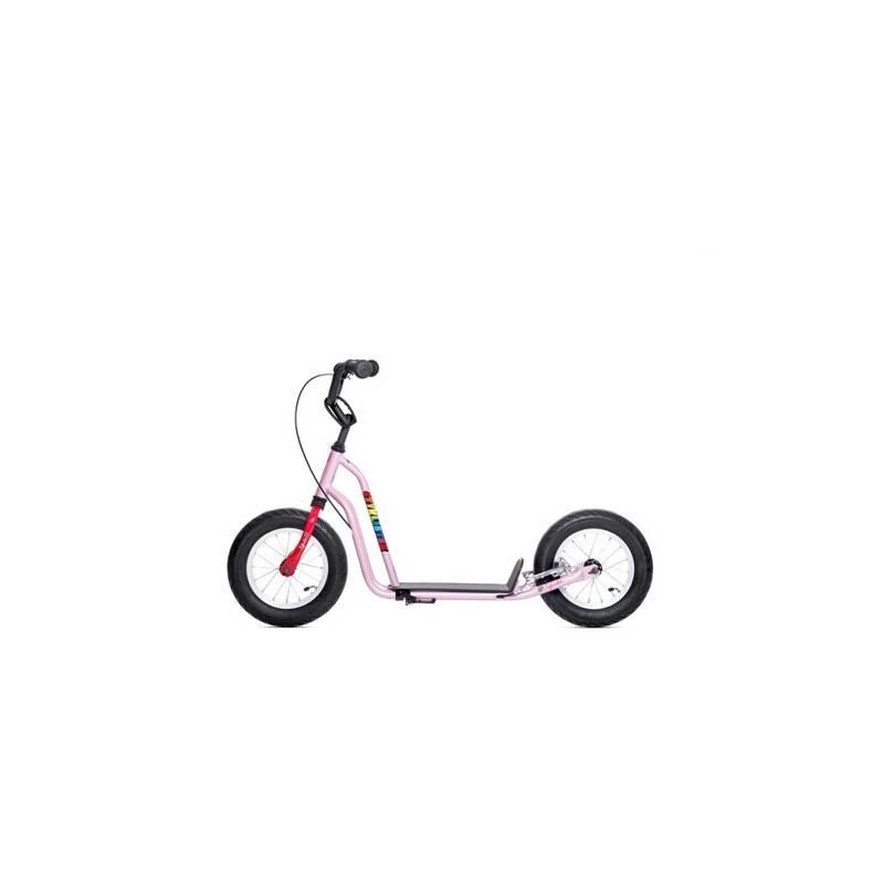 Kolobežka Yedoo Basic Čtyřlístek Mini - Fifinka + Reflexní sada 2 SportTeam (pásek, přívěsek, samolepky) - zelené v hodnote 2.80 € + Doprava zadarmo