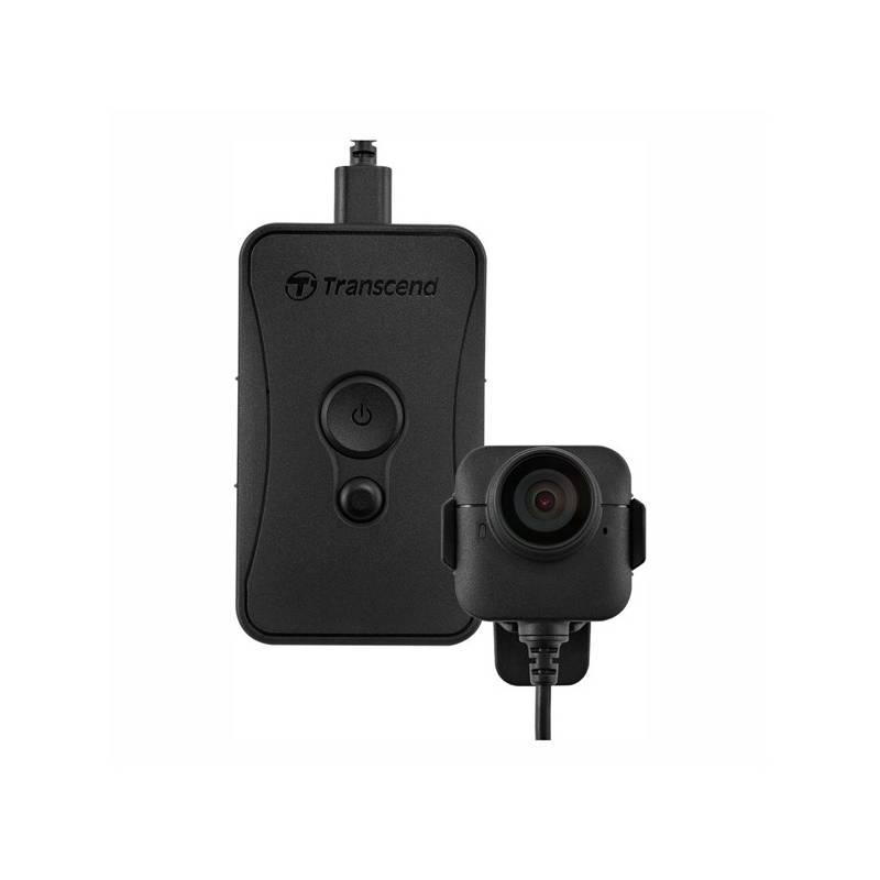 Outdoorová kamera Transcend DrivePro Body 52, osobní kamera (TS32GDPB52A) čierna