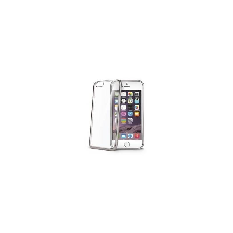 Puzdro na mobil flipové Celly Laser pro Apple iPhone 6/6s (BCLIP6SSV) strieborné