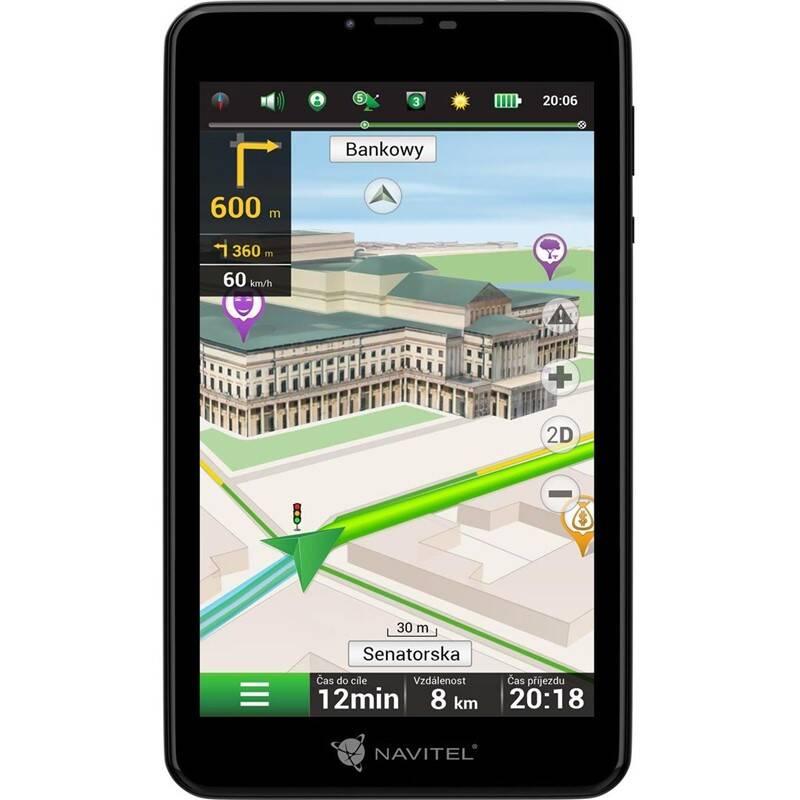 Navigační systém GPS Navitel T757 LTE, tablet černá