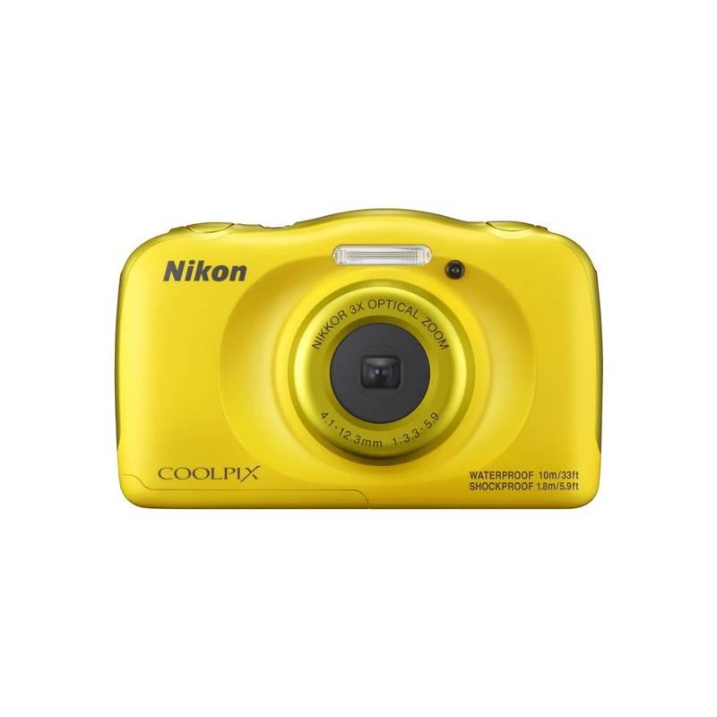 Digitálny fotoaparát Nikon Coolpix W100 BACKPACK KIT (VQA013K001) žltý