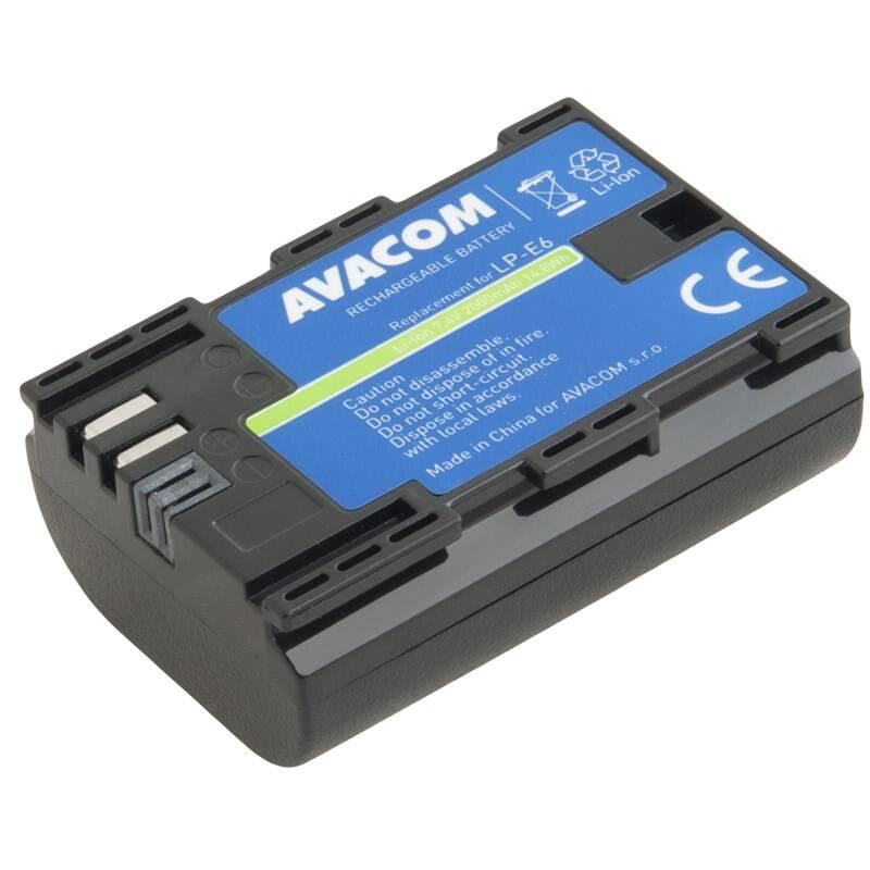 Batéria Avacom Canon LP-E6 Li-Ion 7.4V 2000mAh 14.8Wh (DICA-LPE6-B2000)